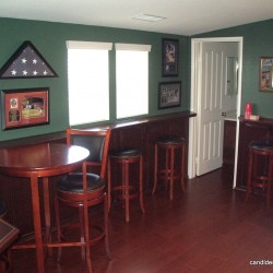 OK you got that custom bar, now how about the rest of the room!