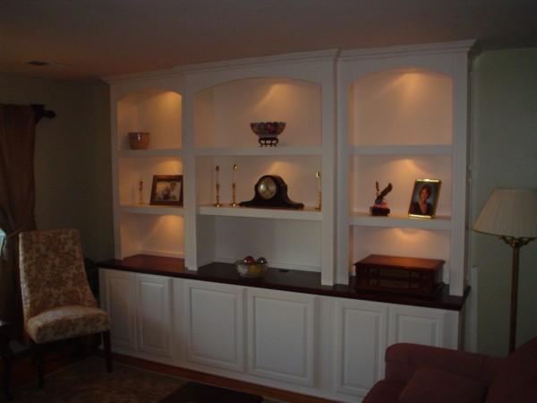 Living room cabinets. Coronado Island, CA