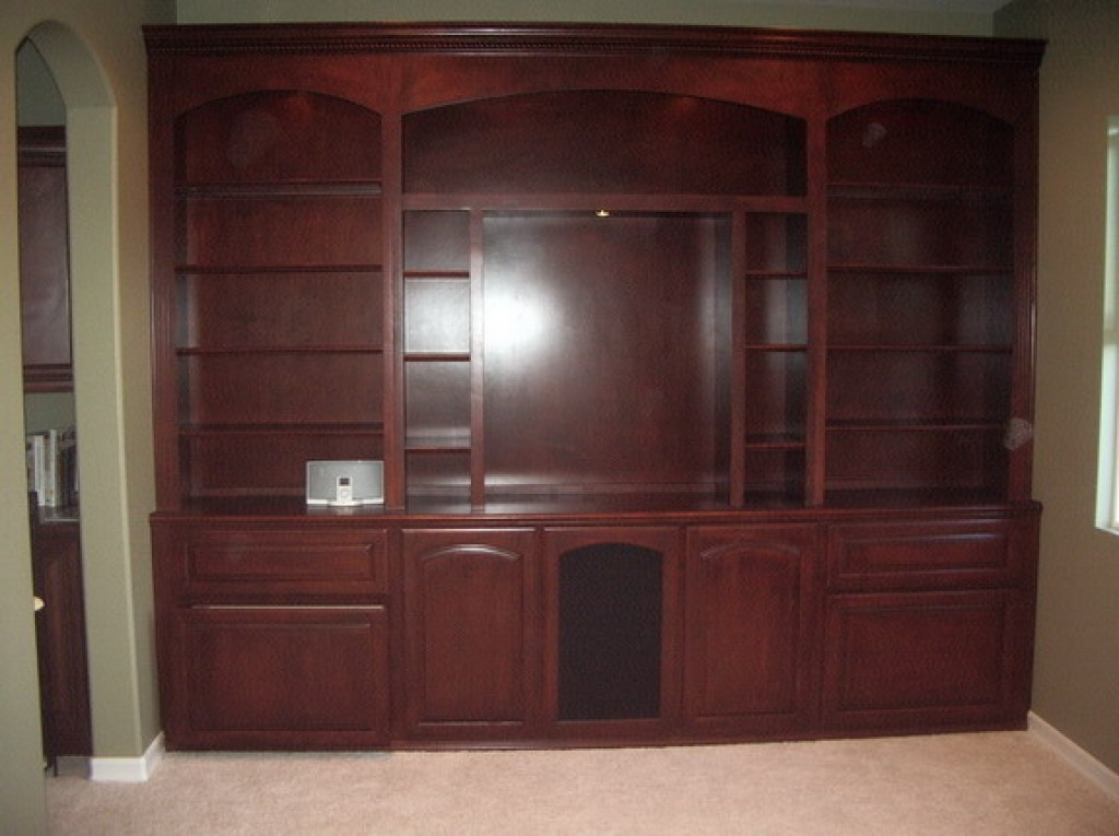 Custom built in wall unit c l design specialists inc for Built in wall units