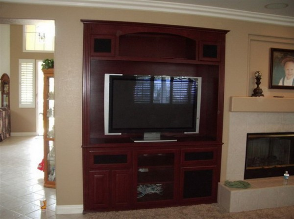 We offer custom wall units in Orange County