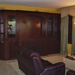 Custom wall unit in Mission Viejo Ca