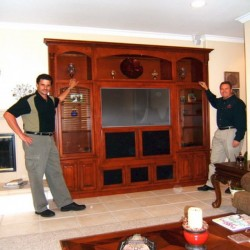 We can build custom cabinets like these for your home in Oceanside