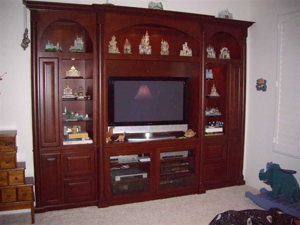 We can build custom cabinets like these for your home in