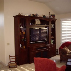 We can build custom cabinets like these for your home in Anaheim Hills