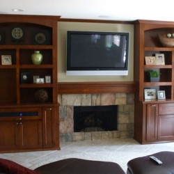 We can build custom cabinets like these for your home in Yorba Linda