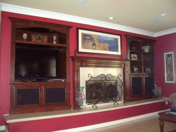 We can build custom cabinets like these for your home in San Diego.