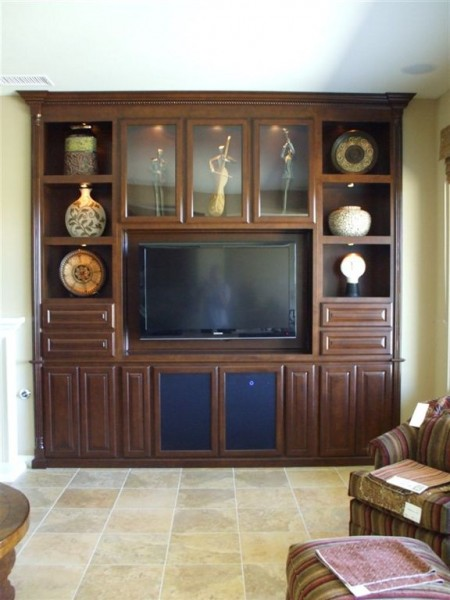 Flat Screen Tv Built In Wall Unit C Amp L Design