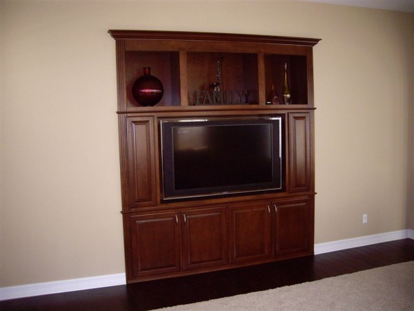Built in tv cabinet in Los Angeles, CA