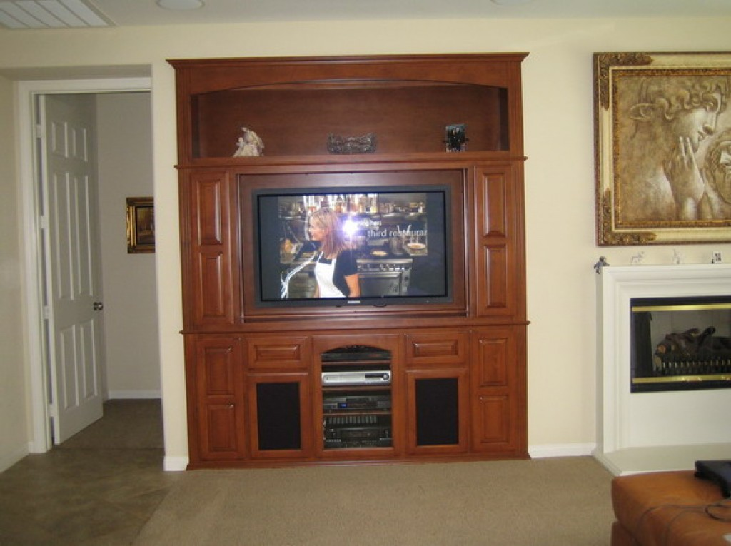 A Built In Wall Unit Is Great Alternative To