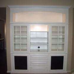 Custom built shelves for your Southern California home
