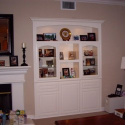 Custom built shelves for your Southern California home