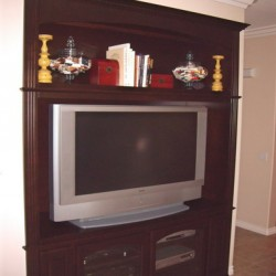 Custom entertainment centers can be designed for your Southern California home