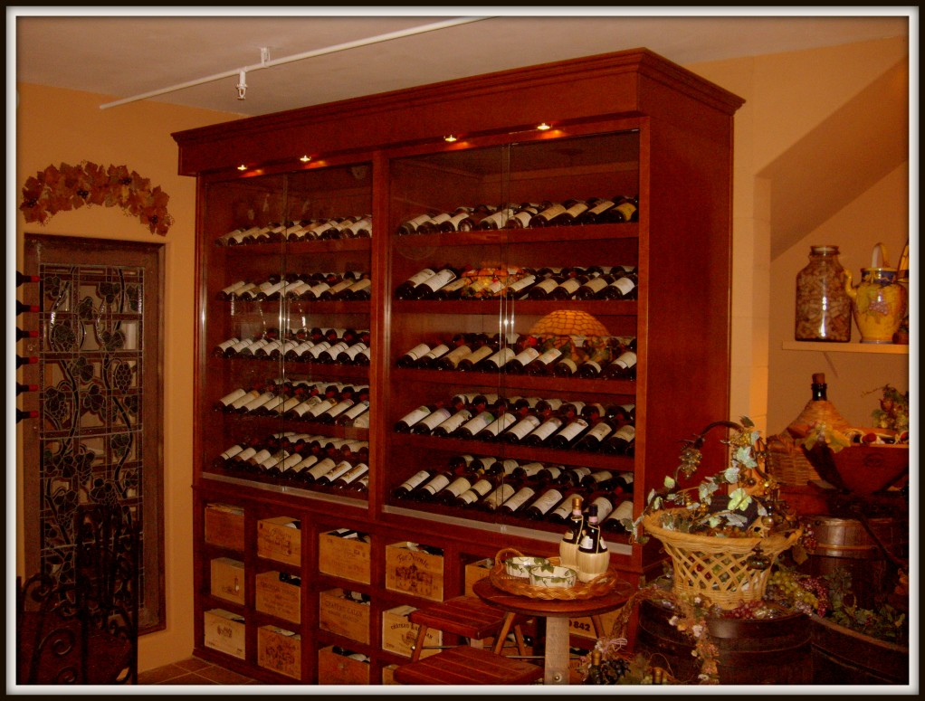 Custom Home Bars And Wine Storage Cabinets