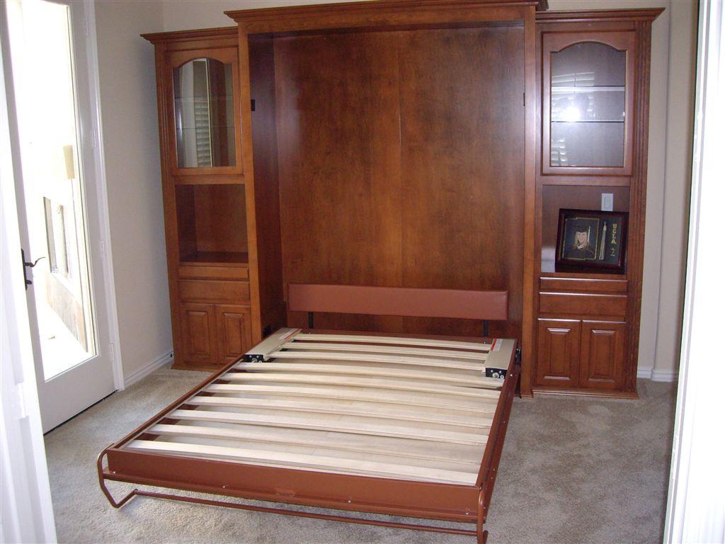 Queen size built in wall bed Queen
