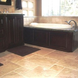 Tub Wrap is Beautiful. Complete master bathroom make over