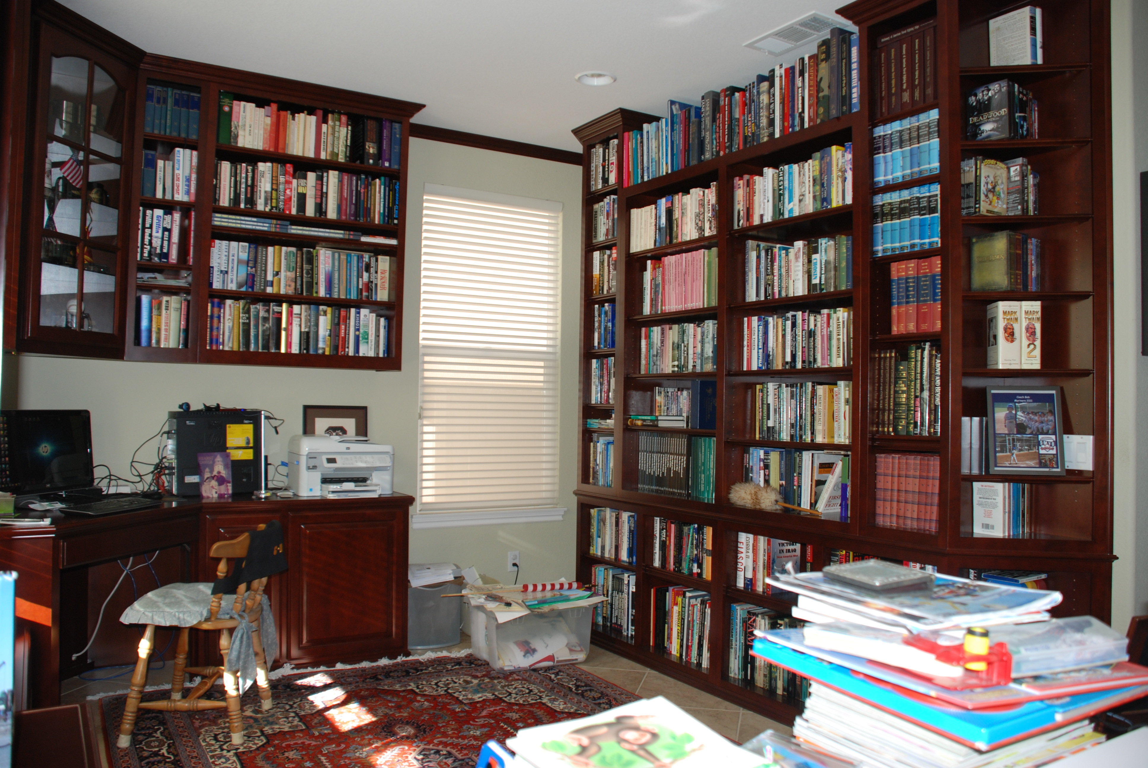 Custom Library And Home Office 43 C L Design