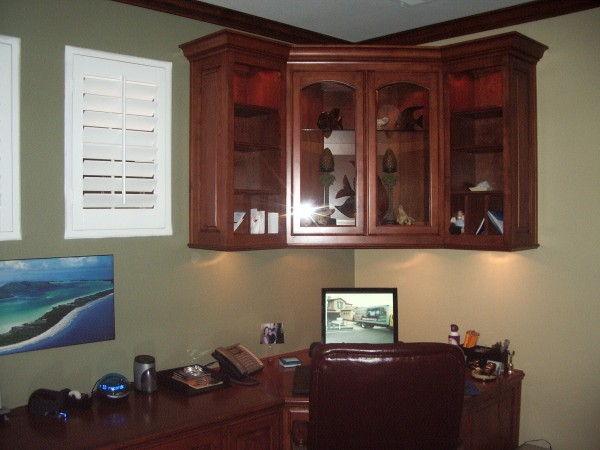 Custom Library And Home Office 7 C L Design Specialists Inc