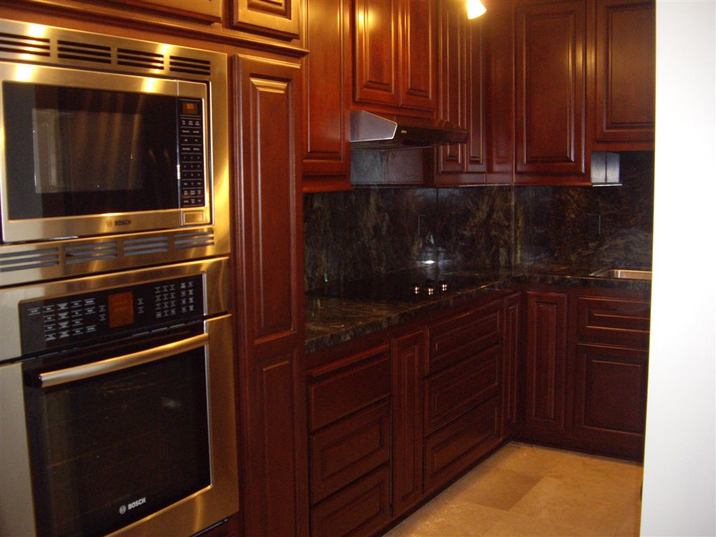 Kitchen cabinets in southern california c and l designs for Staining kitchen cabinets
