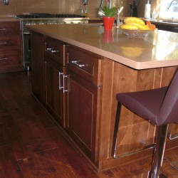 Beautiful kitchen island cabinets