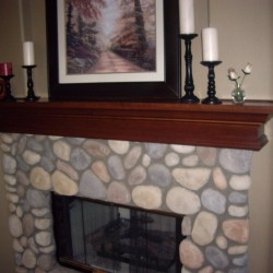 We create beautiful fireplace mantels in wood