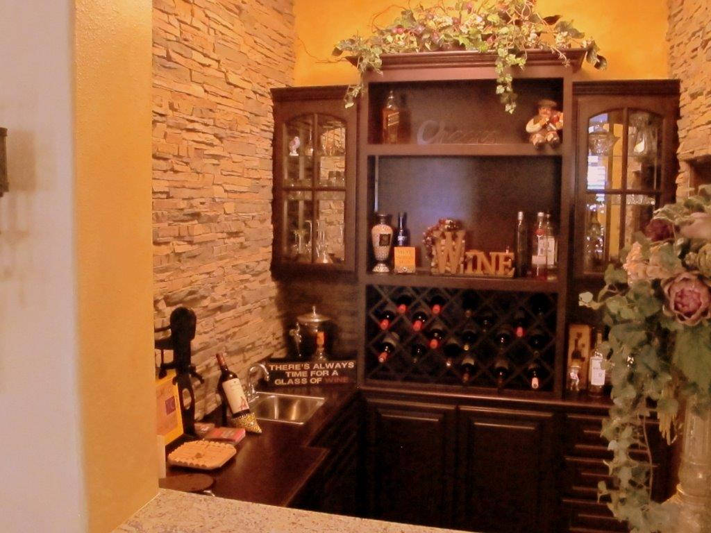 Get a custom home bar and built in wine storage cabinet for How to build a wine bar