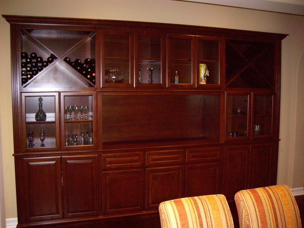 Same Wine Cabinet Design That Builders Offered But 1 3 Of The Price