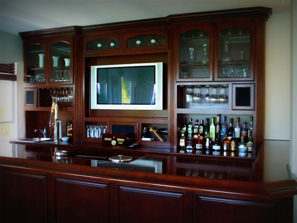 Home entertainment Bar in Temecula Ca | C & L Design Specialists Inc