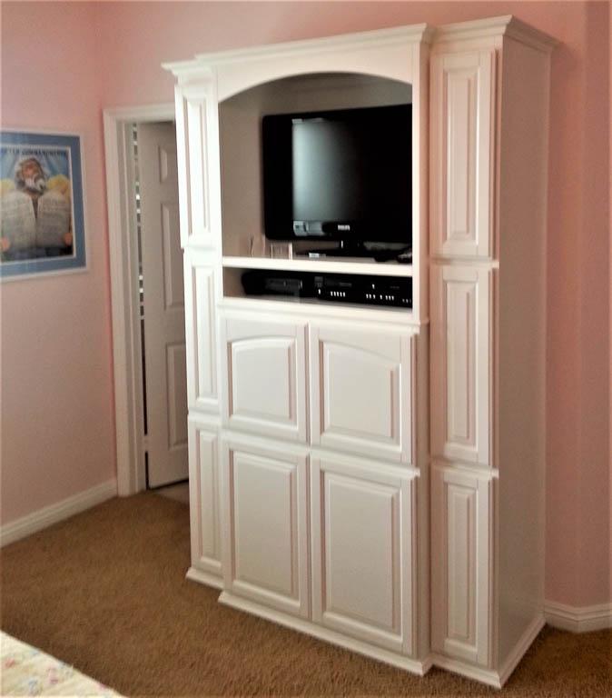 Bedroom Cabinets: Custom Entertainment Centers