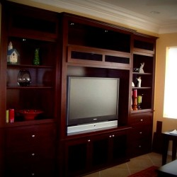 C & L has the best built in wall unit designs