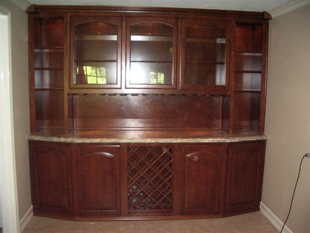 Get a custom home bar and built in wine storage cabinet - Custom bars homes ...