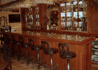 Custom Home Bar Cabinets 3