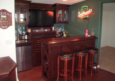 Custom Home Bar Cabinets 40