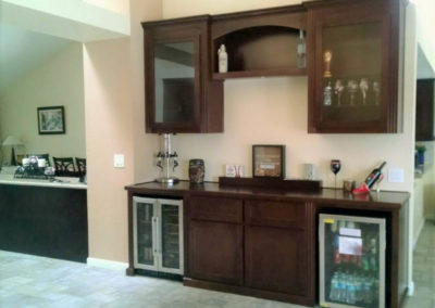 custom-home-bar-cabinets-54 & Get a Custom Home Bar and Built In Wine Storage Cabinet
