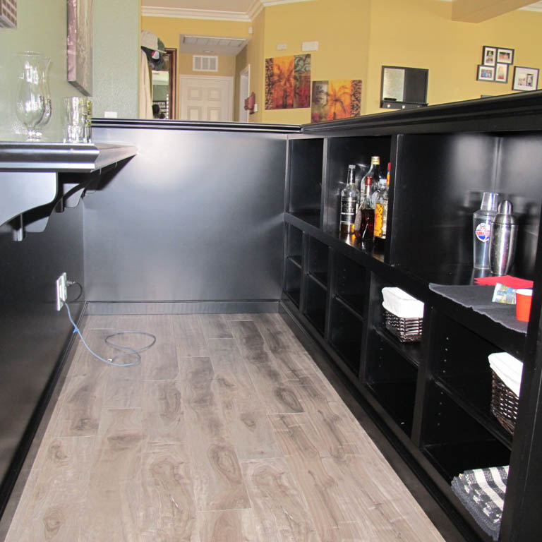 Custom Bars For Homes: Get A Custom Home Bar And Built In Wine Storage Cabinet