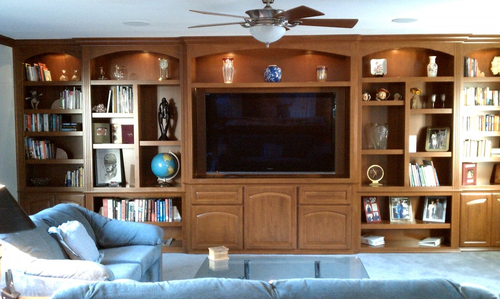 Custom wall units and entertainment centers c l design How to build an entertainment wall unit