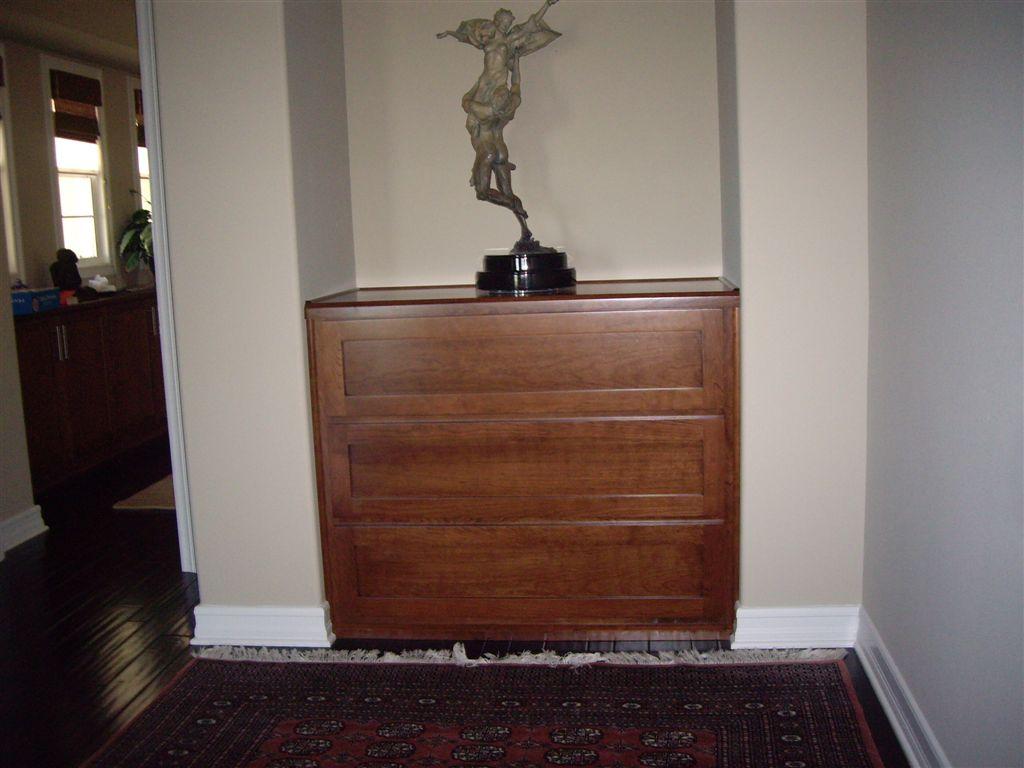 Built-in Dresser