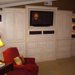 Built it wall units in Orange County and other Southern California areas