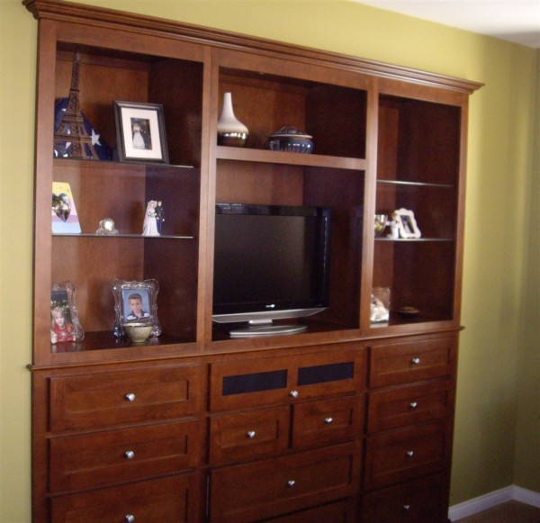 Bedroom Wall Unit Cabinet In San Marcos Ca. Shaker Doors
