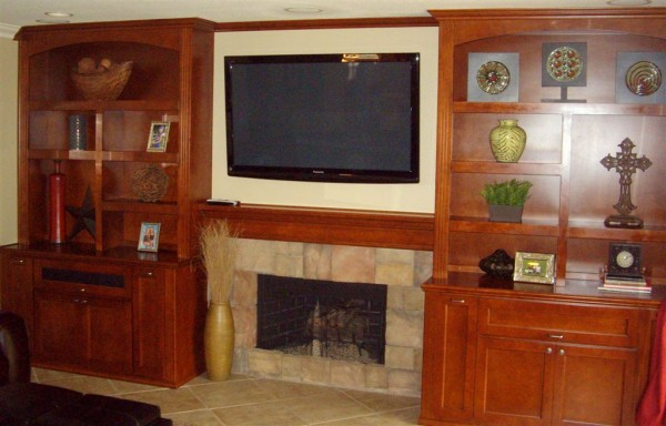 Custom built wall units are our speciality