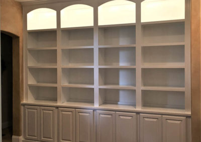 Warner springs library cabinets