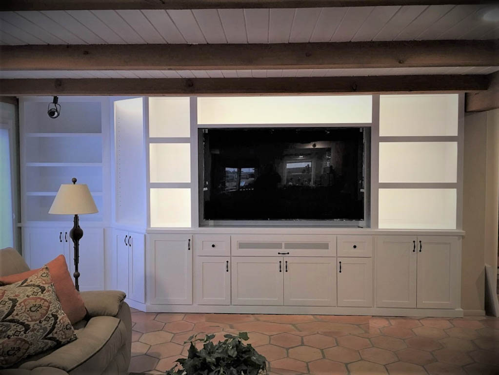 Awesome White Custom Cabinets In Oceansite Amazing Pictures