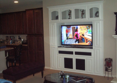 White wall unit in Mission Viejo