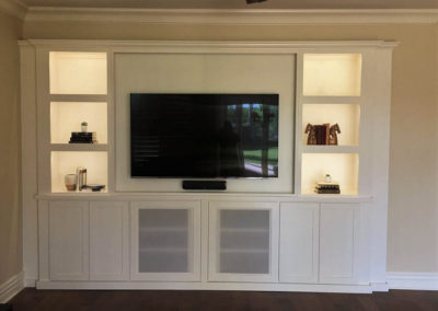 After - custom cabinets