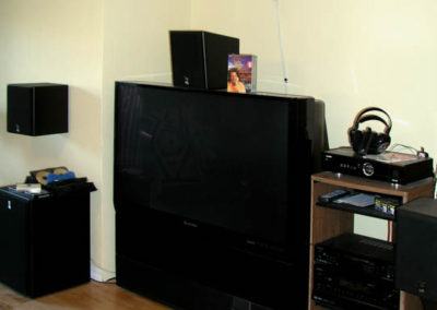 Before - just a tv