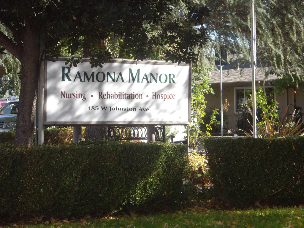 Romona Manor Hospital. Hemet, California