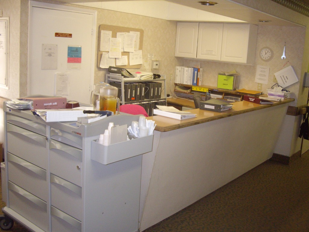 Commercial clients with custom cabinets