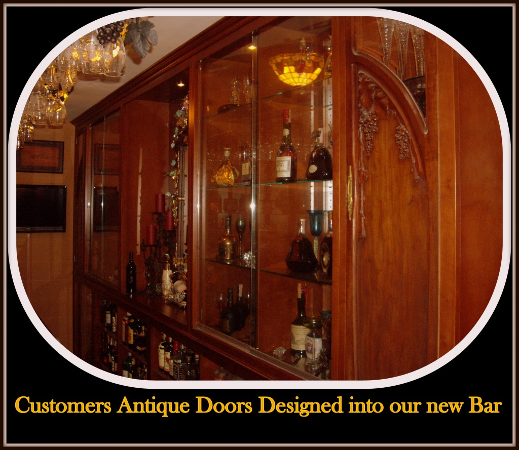 One Hundred year old doors incorporated into this section  sc 1 st  C u0026 L Design & One Hundred year old doors incorporated into this section   C u0026 L ... pezcame.com