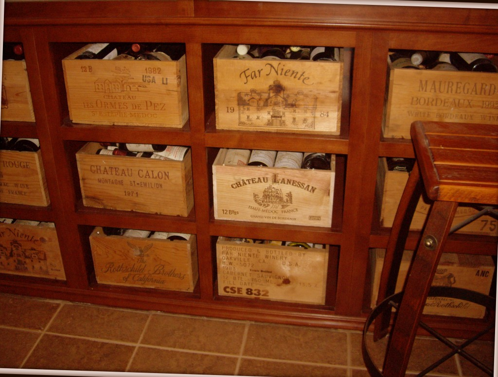 Turn of the century furniture - Specialty Wine Storage
