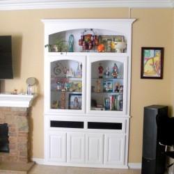Patriot arch glass doors.