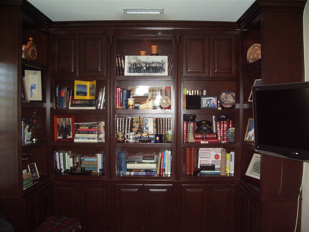 home office solution. Floor To Ceiling Built In Bookshelves Are The Perfect Home Office Solution For This So Cal Customer. M
